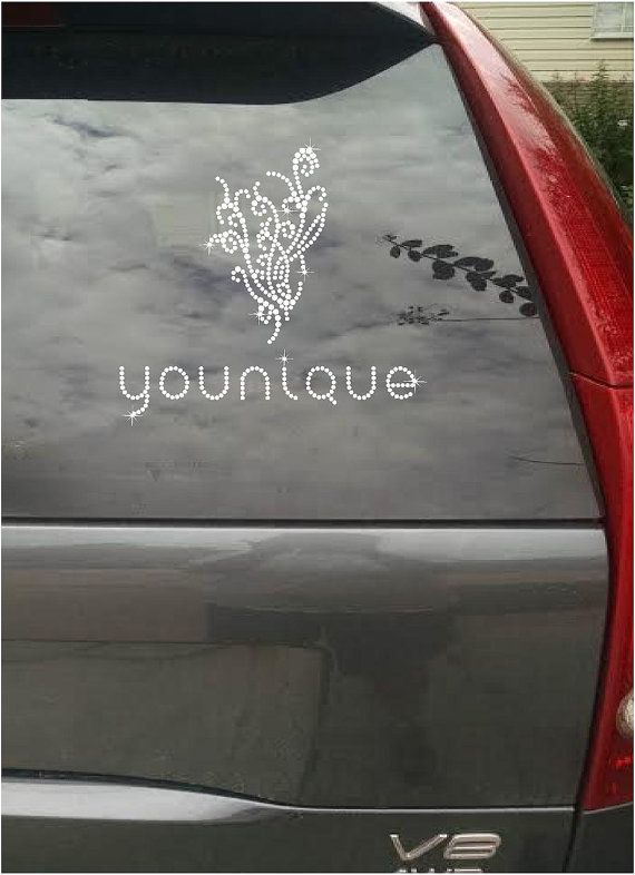 Younique decals bling and vinyl advertise by thedecaldivaintexas