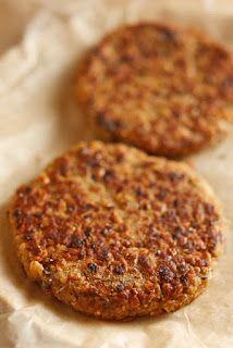 The Chubby Vegetarian: Black Eye Burger (The Easiest Veggie Burger Recipe Ever!)