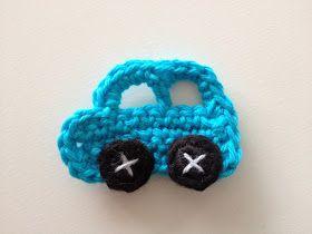 Little Miss Freckle: Små hæklede biler til fluenet