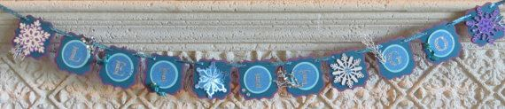 Frozen banner- Let it Go - Deluxe by ckgaladesigns. Explore more products on http://ckgaladesigns.etsy.com