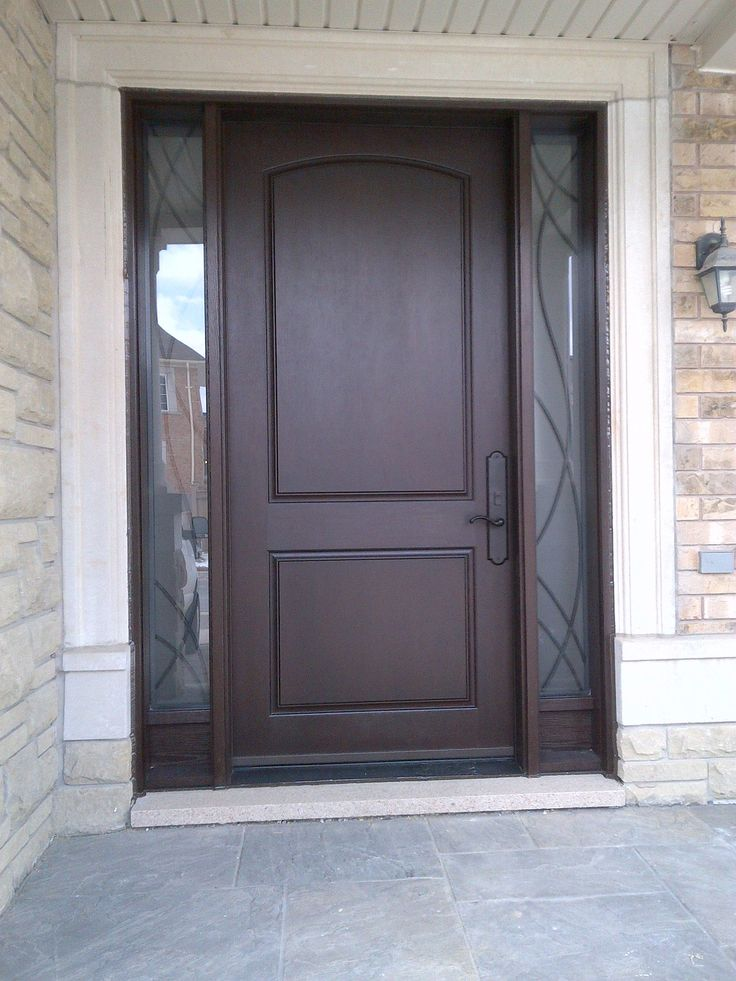 Fiberglass exterior door top fiberglass exterior doors for Fiberglass entry doors with sidelights