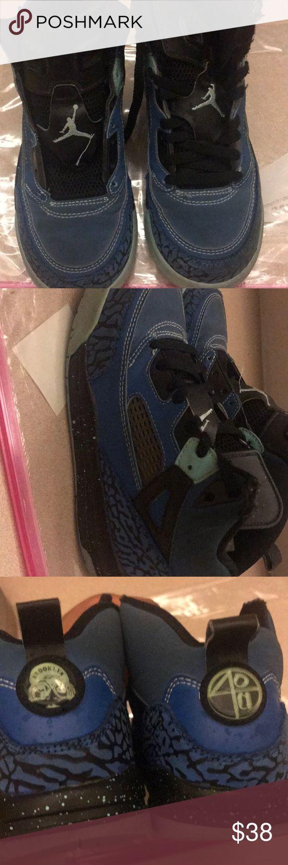 Jordan Spizike Boys retro spizike Jordan. Missing one shoe lace. Still a very good shoe Jordan Shoes Sneakers