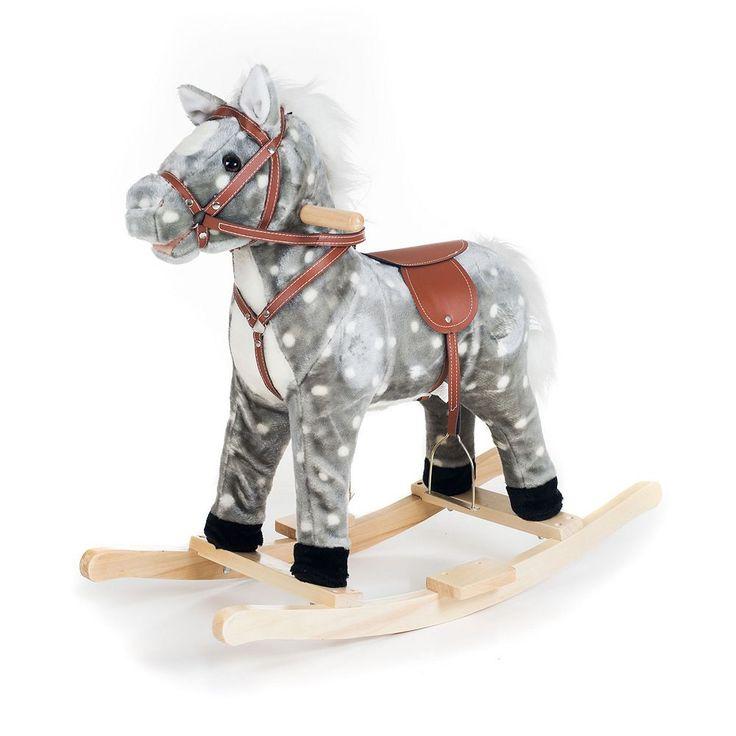 Happy Trails Plush Rocking Haley Horse, Multicolor