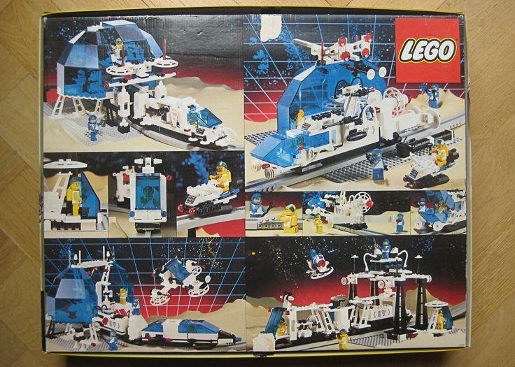 LEGO Futuron Monorail Transport System [6990, Back] (1987)