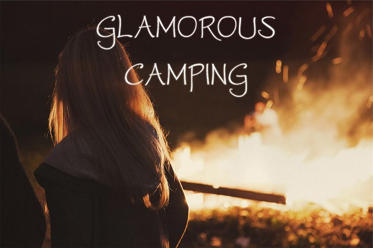 Island Glamping Campfire
