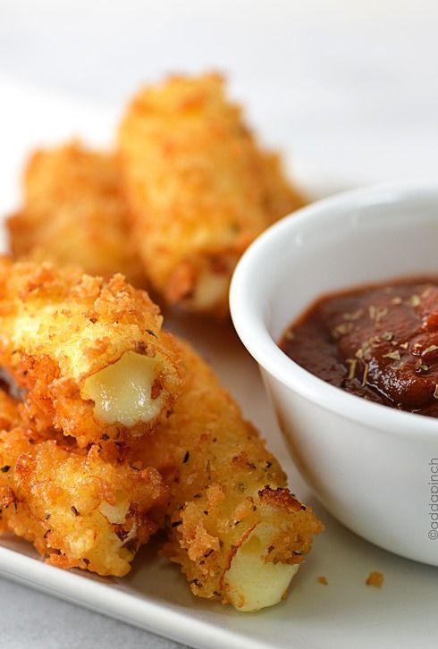 #KatieSheaDesign ♡❤ ❥▶  Fried Cheese Sticks Recipe { A #DIY Holiday/Party Recipe!}