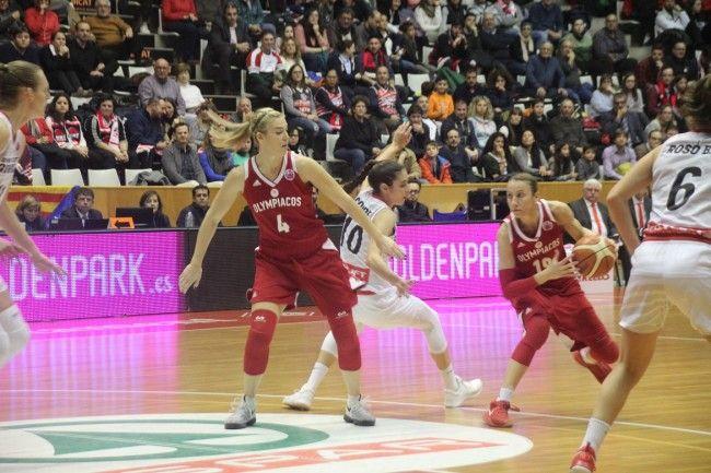 Eurocup. Φάση των 16. 2ος αγώνας. Palau Girona-Fontajau. 11/01/2018. UNI Girona CB (or Spar CityLift Girona) - Olympiacos SFP 89-62.