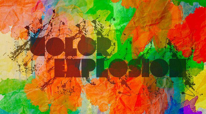 Color Explosion for World Cup Brazil 2014 #Iloveideas #WorldCup #Brazil