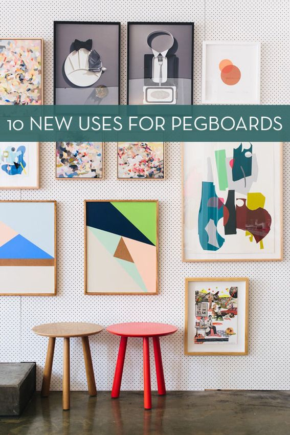 Roundup: 10 Clever Ways To Use Pegboard » Curbly | DIY Design Community