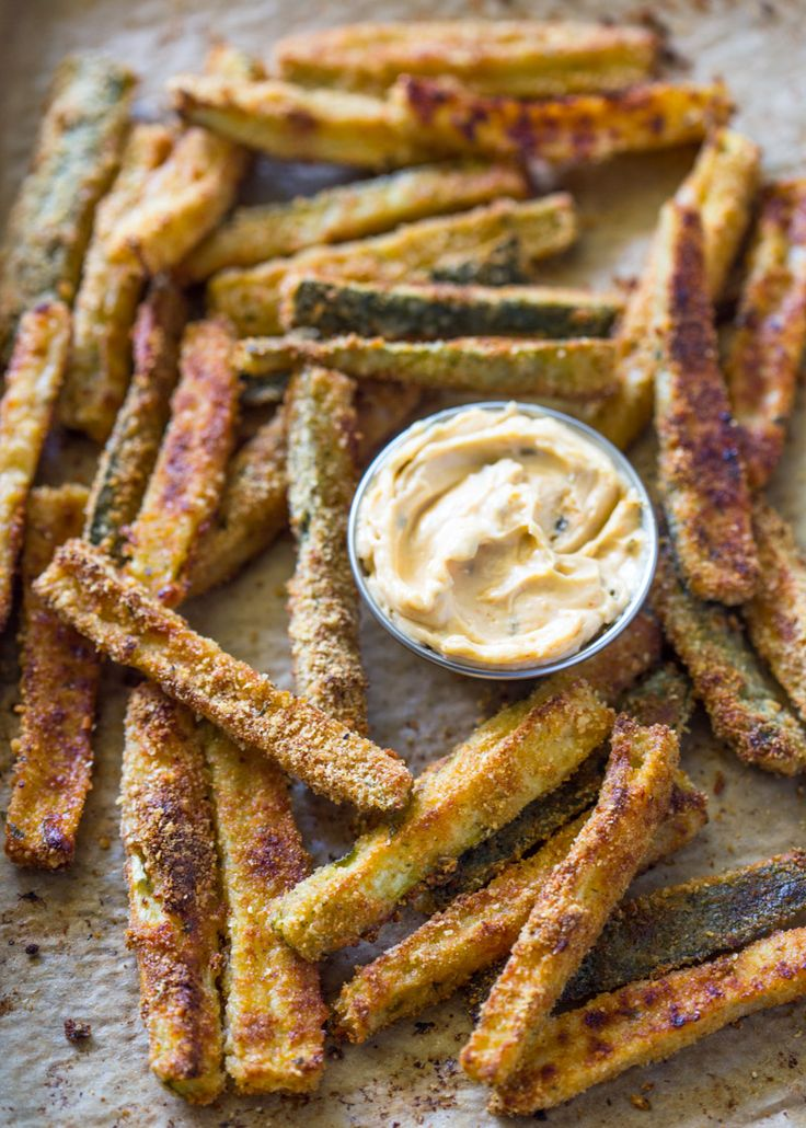 The Best Crispy Baked Zucchini Fries | Gimme Delicious                                                                                                                                                      More