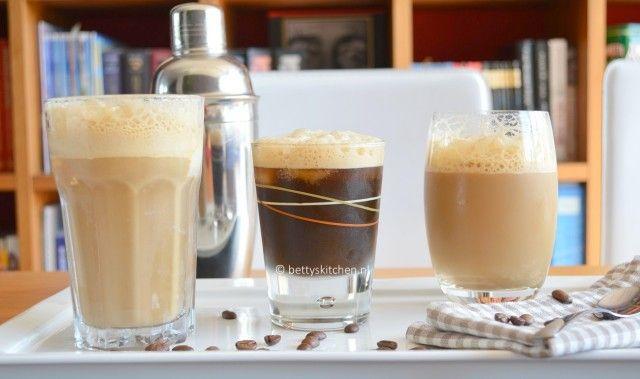 Café Frappé - 3 x iced coffee