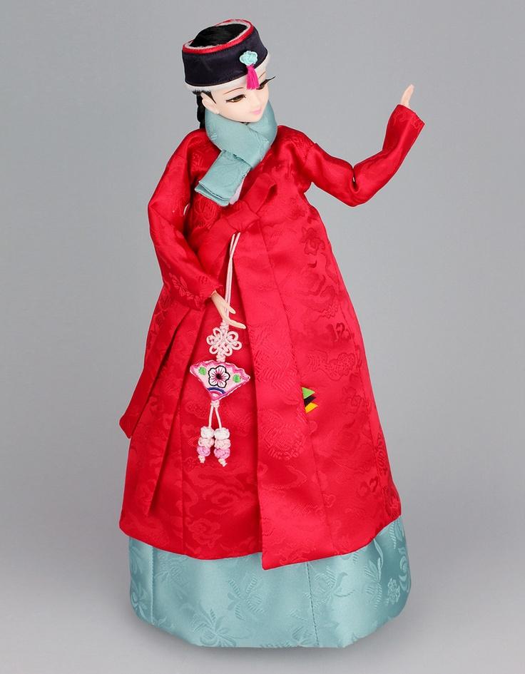 Hanbok doll