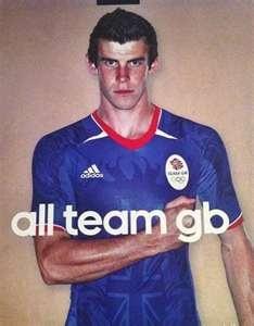 Team GB Football Kit 2012 London Olympics Supporters Football Shirt ...