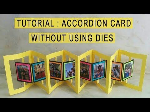 How to Make a Trifold Shutter Card Base - YouTube