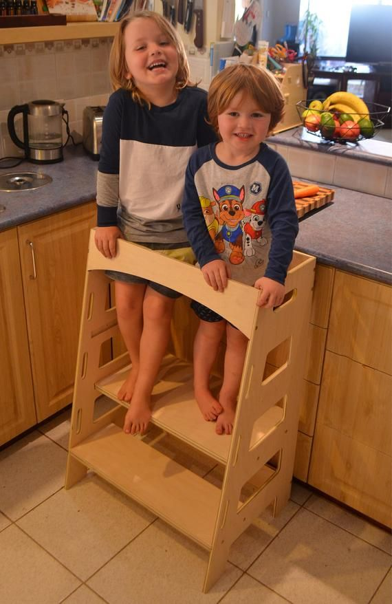 Double Twin Kitchen Helper Tower