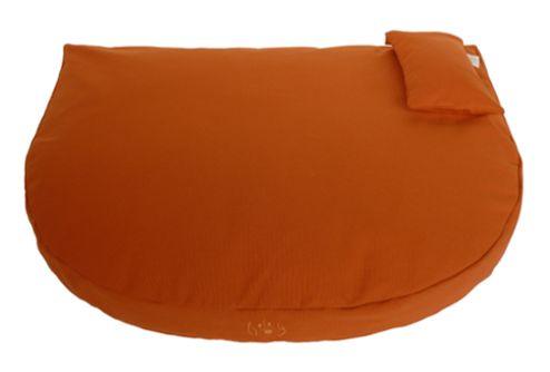 Organic Dog Bed orange / Bio Hundebett orange  #orangedogbed #organicdogbed #organic #bio #dogbed #biohundebett #organicproducts
