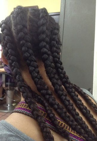 Click the image for Mercedes' natural hair photos and regimen.
