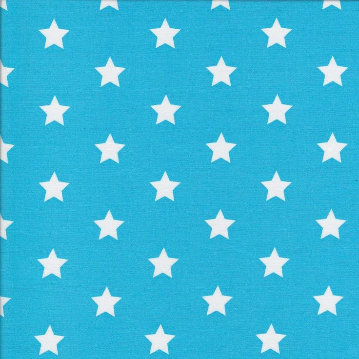 Big Stars - Aqua - Stenzo Poplin