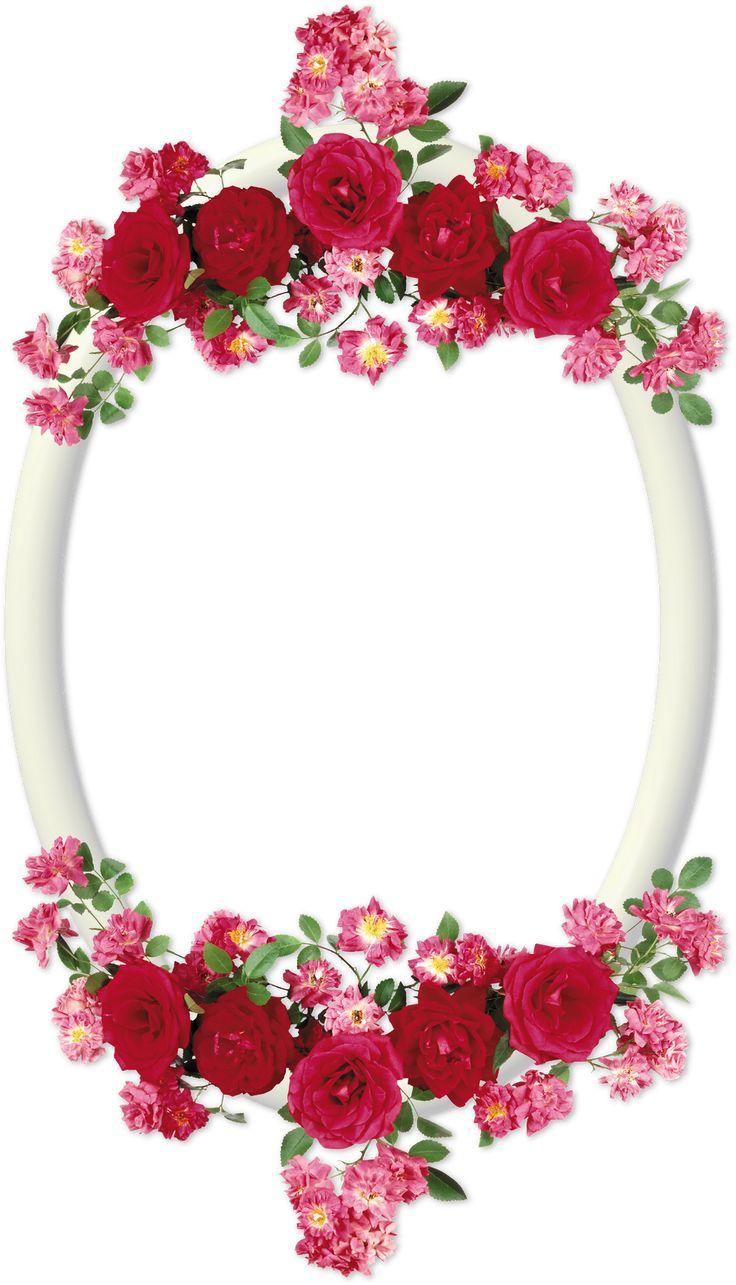 Marcos para fotos marcos ovalados con flores cosas para - Marcos redondos para cuadros ...