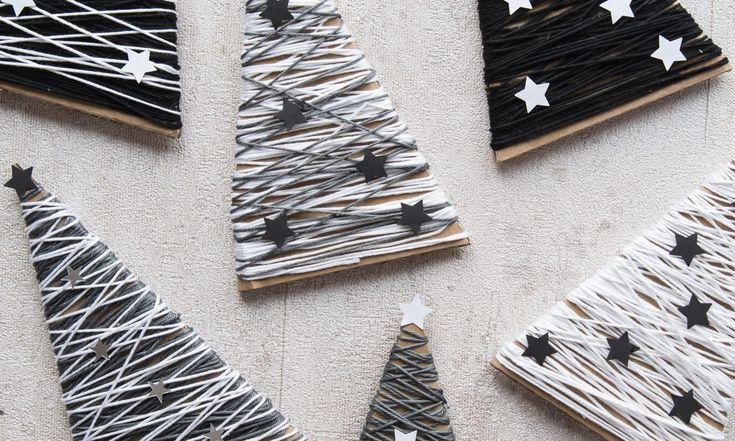 DIY Tannenbaum Dekoration für Weihnachten