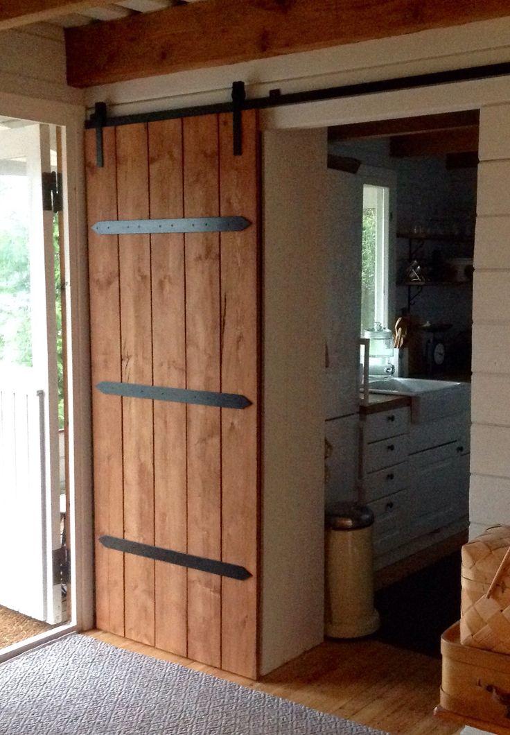 At last ready - barn door
