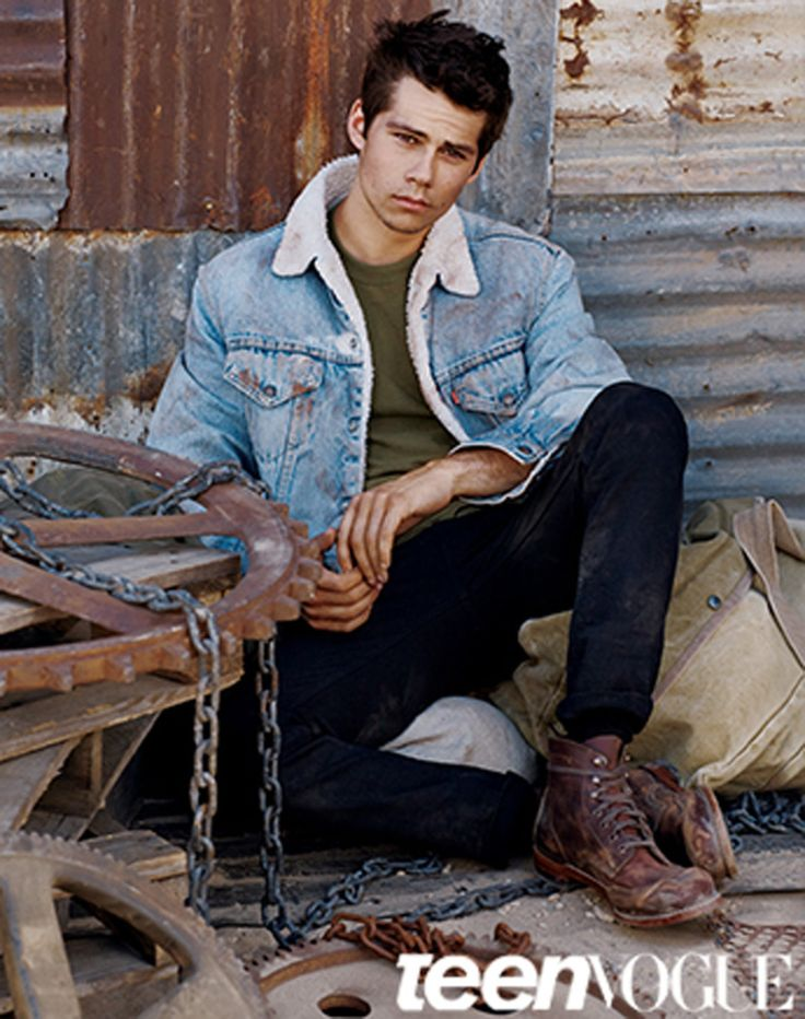 Dylan O'Brien!!!!!!!!!  I believe i just died and went to heaven looking at this picture of this hottie