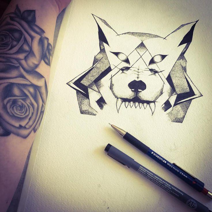 Work in progress: There is something really therapeutic about doing a dot work piece. . . . #wolf #tattoo #wolftattoo #design #tattooart #dotwork #dotworktattoo #tattoodesign #ink #sketch #drawing #inkart #art #artist #instart #inprogress #wip #australianartist #sydneyartist #design #inspo #idea #inspiration #tatt #tattooidea #cool #wolfart #animalart