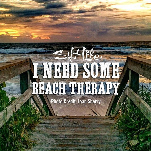 I need some beach therapy!