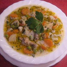 Csirke becsinált-leves