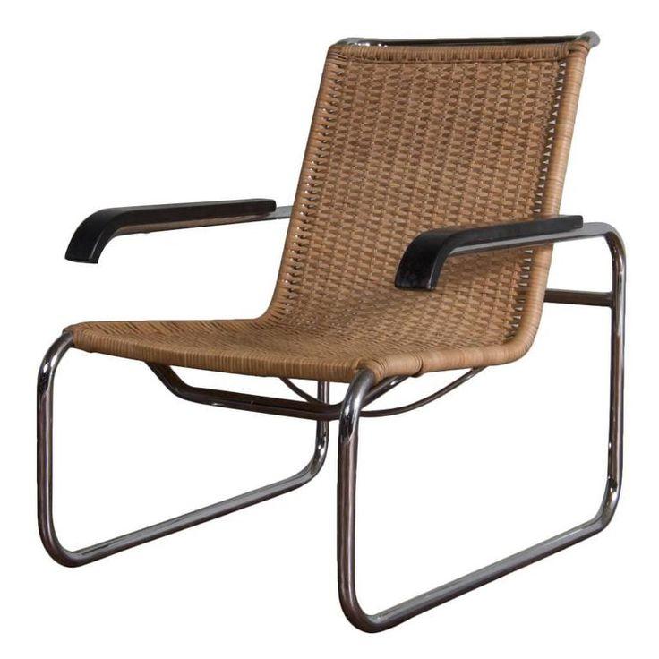 Vintage Design Cantilever Chair Model B35, Designed by Marcel Breuer | 1stdibs.com