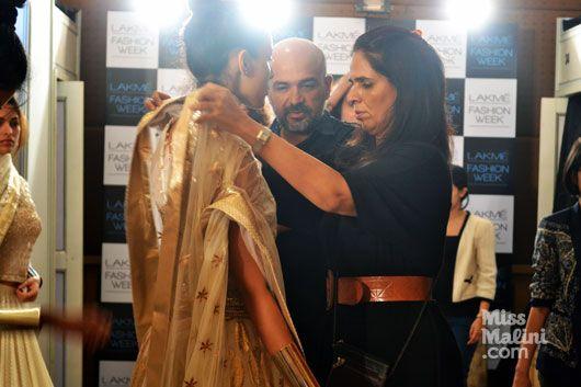 Anita Dongre Behind The Scenes. The Jaipur Bride 2013.