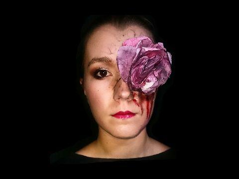 """Valentine's day-The infected rose  Della serie """"non tutte le rose sono senza spine"""" ecco il mio nuovo trucco questa volta ispirato ad uno dei simboli per eccellenza dell'amore: la rosa, vista però in chiave... Horror. Se volete saperne di più amate sul mio canale e vedete il video 😎. Spero vi piaccia, se volete lasciate un like ed iscrivetevi ☝👆☝ #makeuptutorial #rose #valentineday #red #blood #bloodyrose #mouth #eyes #poisoned #infected #hopeyoulikeit #likeit #subscribe #enjoy"""