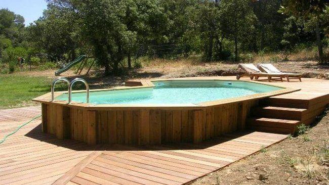 Tout savoir sur les piscines hors sol // http://www.deco.fr/jardin-jardinage/piscine-bassin-spa/actualite-713119-piscines-hors-sol.html