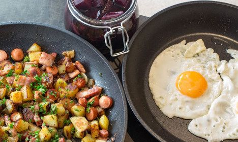 Swedish meal 'pyttipanna' is a traditional comfort food, perfect for autumn. So we've dug out our favourite take on the dish, shared by food writer John Duxbury.