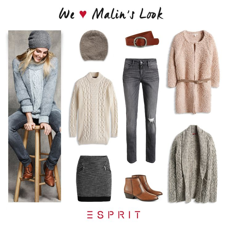 See Mailns favorite #knitwear for the upcoming season and be inspired by her #casual look.