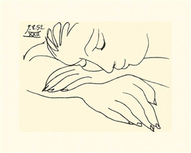 pablo_picasso_sleeping_woman_print_14a.jpg (985×787)