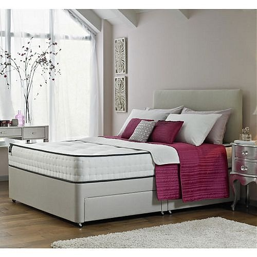 i cant believ how good a deal this bed is. Its the Rest Assured Divan Bed Tivoli Memory Foam Double bed with loads of options