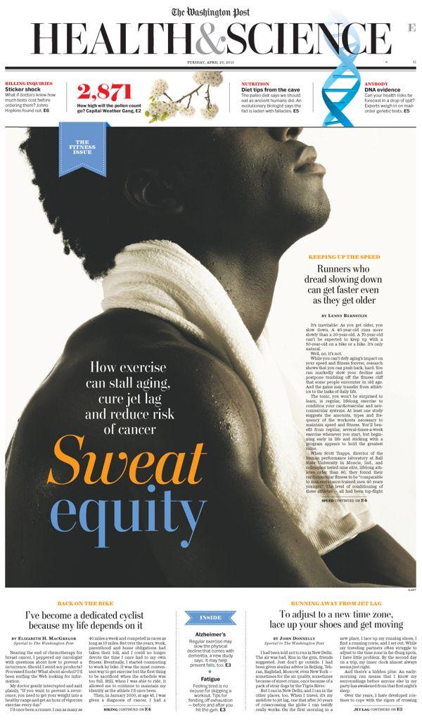 Washington Post print design on Editorial Design Served