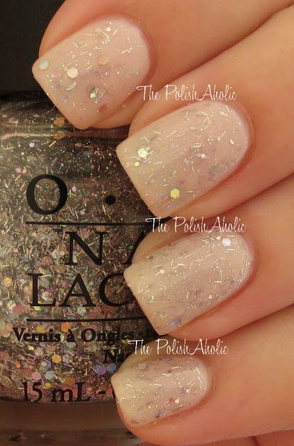 OPI - Which Is Witch? (shown here over OPI - Don't Burst My Bubble)