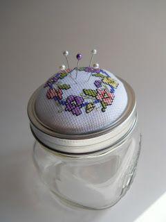- Tangled Threads -: Jar topper
