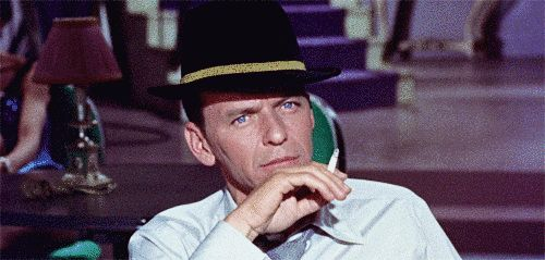 Okay, so we all know Ol' Blue Eyes, Frank Sinatra, is the king of cool…