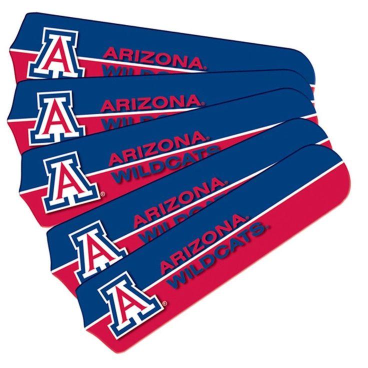 "Arizona Wildcats 21"" Ceiling Fan Replacement Blade Set"