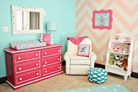 Home by Heidi: {Baby Girl Nursery Ideas!}