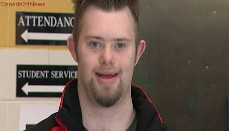 Tyler MacComish is the only competitor with Down syndrome to make it to Ice Stock World Championship