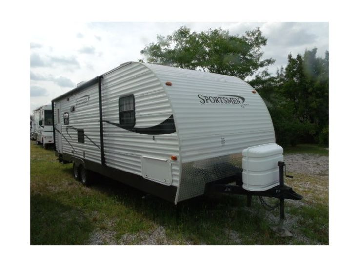 """Get most affordable deals on Cheap Used 2010 #Kz Sportsmen #Travel_trailer by Recreation Plantation Inc for $12900 in Lynwood, IL, USA. It's looks great condition and maintained well. This Rv Equipped with rear lounge chair, rear picture window, many windows, sofa/bed, dinette/bed,36"""" super slide/flush floor, large kitchen, several kitchen cabinets, entertainment center, microwave, stove/oven, gas/electric refrigerator many more. Search more information at: http://goo.gl/GYjDUZ"""