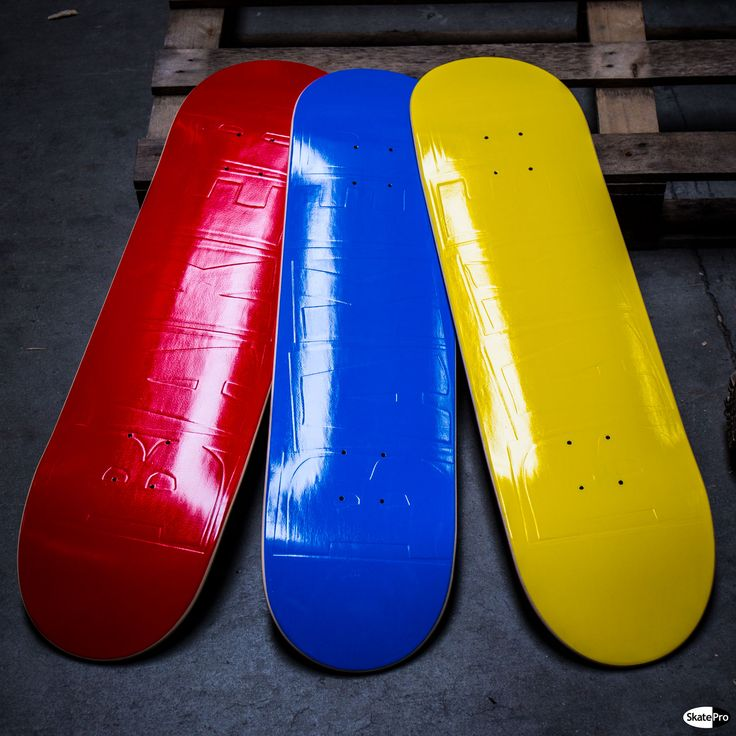 """Baker """"Brand Name"""" signature series decks looks awesome. Yellow = Andrew Reynolds  Red = Cyril Jackson  Blue = Bryan Herman"""