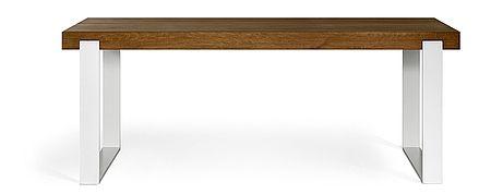 FRAME dining table, colour: 05 Cacao, 200x90x76 - www.miloni.pl/en MILONI: wooden table, oak table, natural wood table, table design, furniture design, modern table