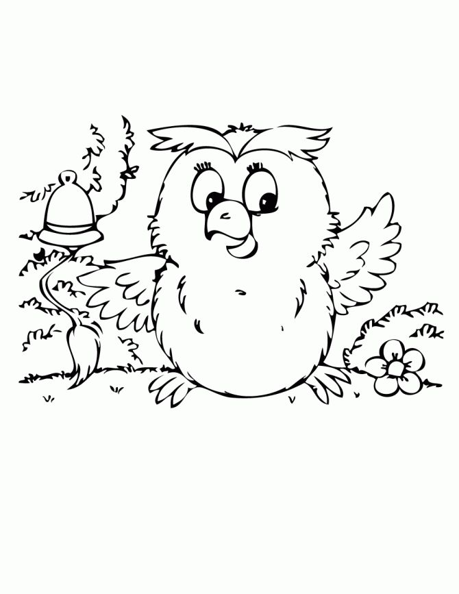 owl coloring pages free printables cute baby owl coloring page free printable coloring pages - Free Printable Owl Coloring Pages