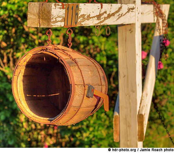 27 best images about wooden barrels on pinterest black - Unique mailboxes for rural ...
