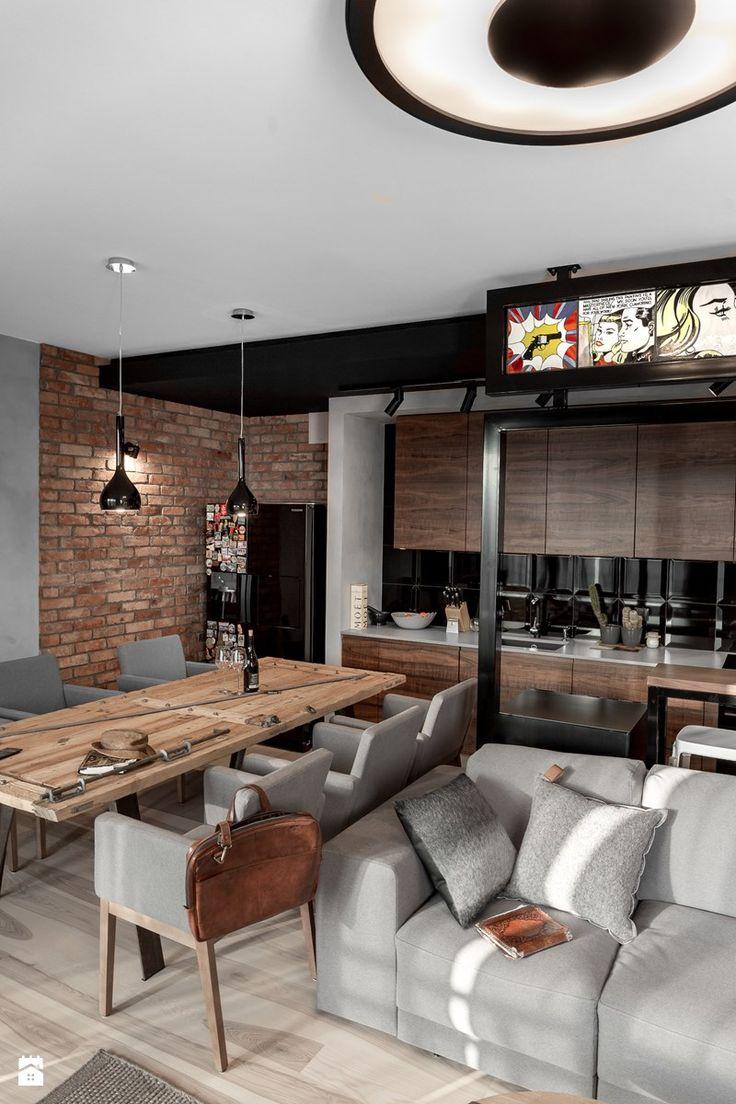 Apartament w Gdańsku - Jadalnia, styl nowoczesny - zdjęcie od SIKORA WNĘTRZA